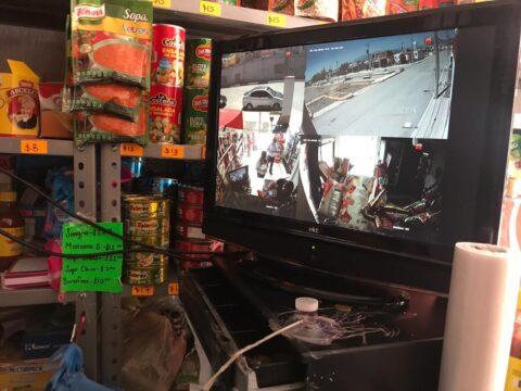 Instlación de CCTV en El Dorado