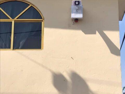 Instalación de alarma vecinal en Zumpango