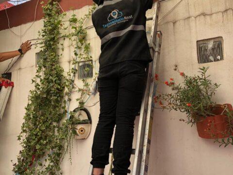 Instalación de CCTV en Zumpango